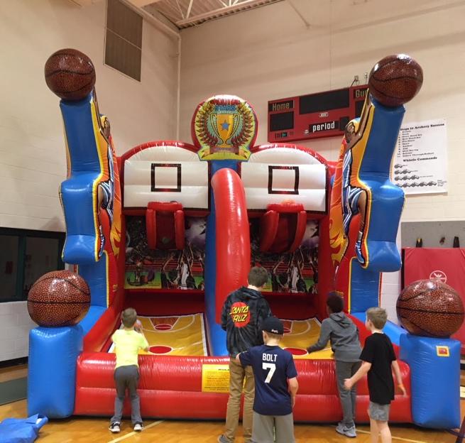 Double Basketball Shooter