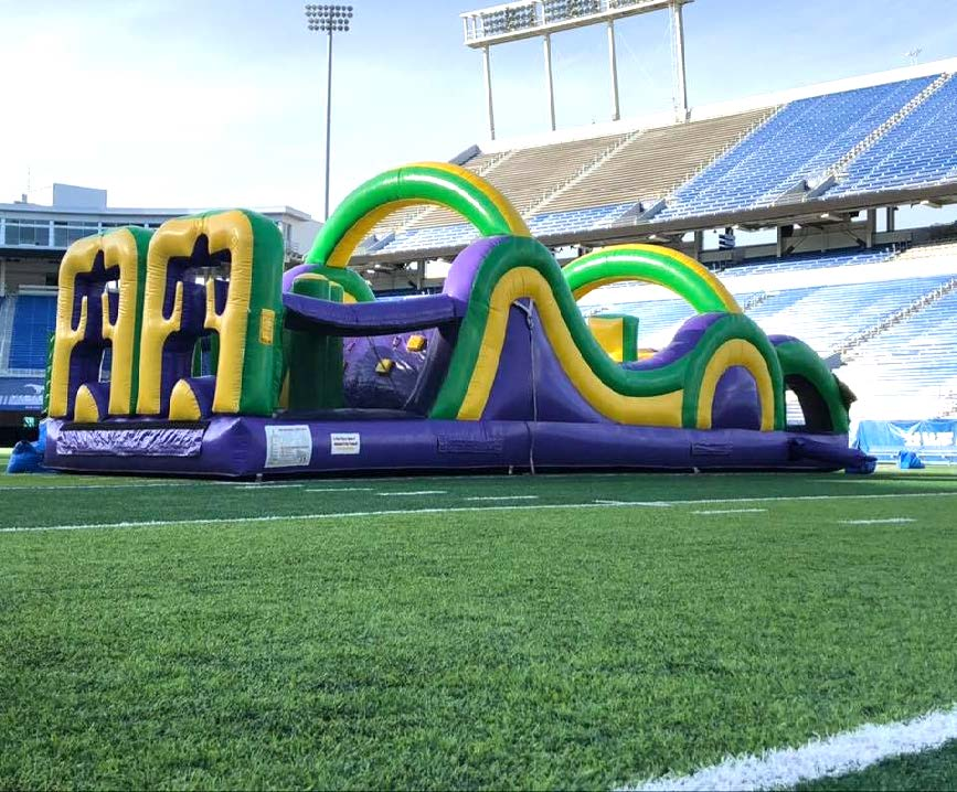 Purple Obstacle Course