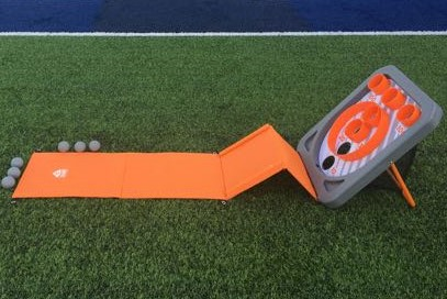 Skee Ball Arcade game in grass